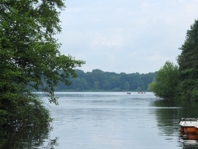 Bootsausflug zum Halterner See