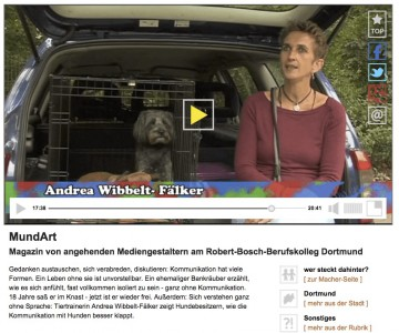 Video Interview zur Hundekommunikation